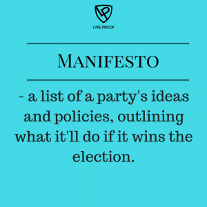 Read what each party will do in topics that matter to you here.