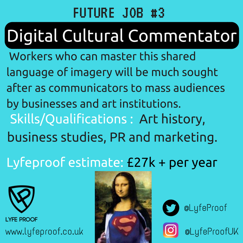 Future Job: Digital Culture Commentator